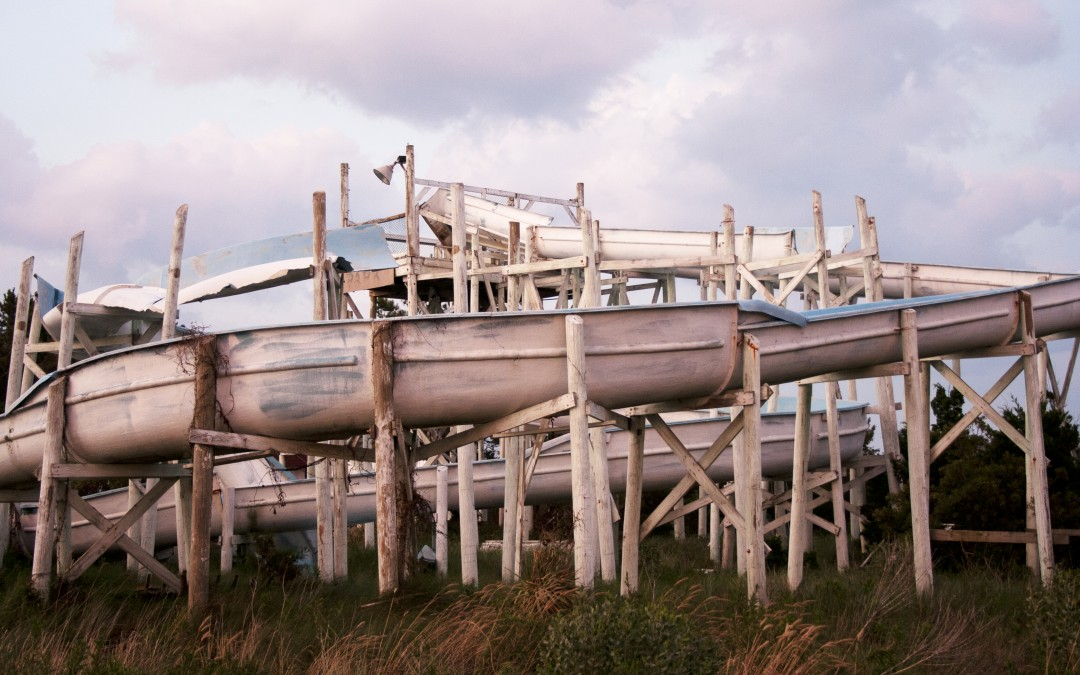 Left Behind: Waterfall Action Park in Rodanthe, NC