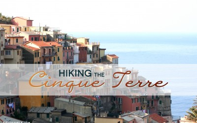Hiking the Cinque Terre in Italy