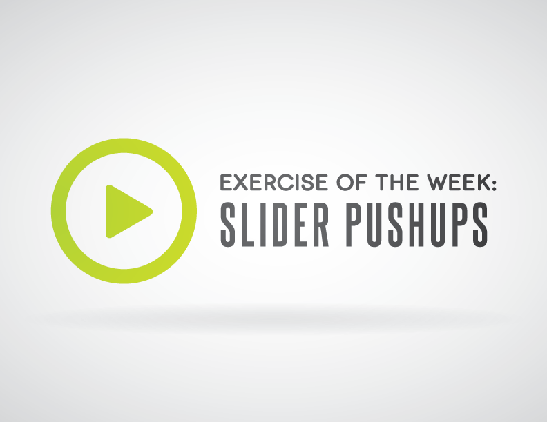 Exercise of the Week: Slider Pushups