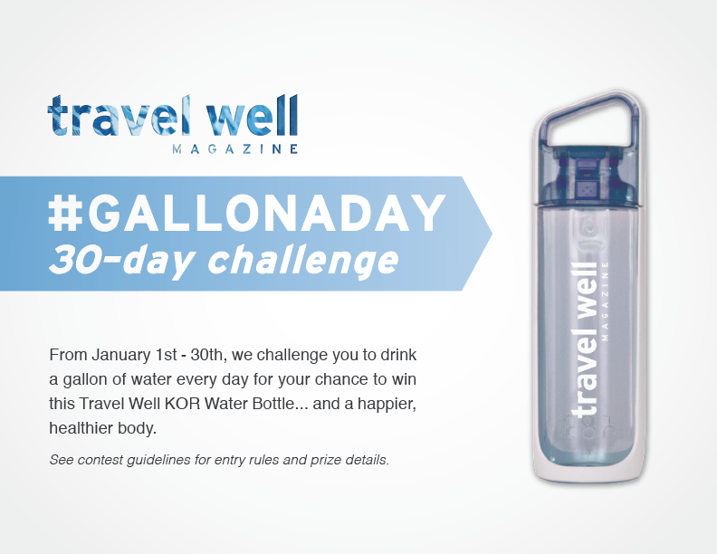 30 day challenge 1 gallon of water