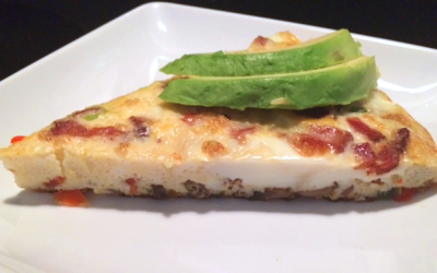 Two Fit Girls' Recipe of the Month: Vegetable Frittata