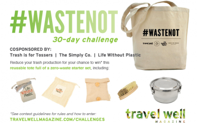 #WasteNot: 30-Day Challenge to Reduce Trash
