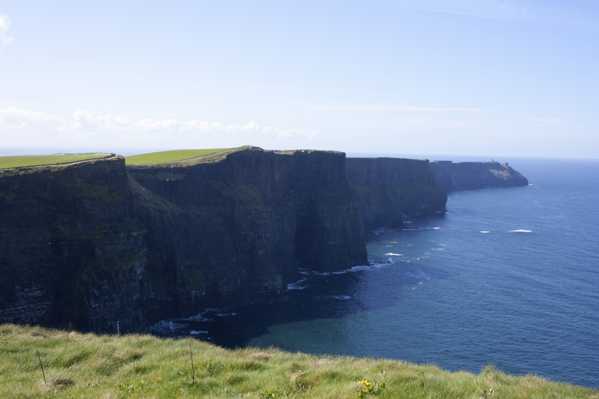 Cliffs of Moher from O'Brien Tower