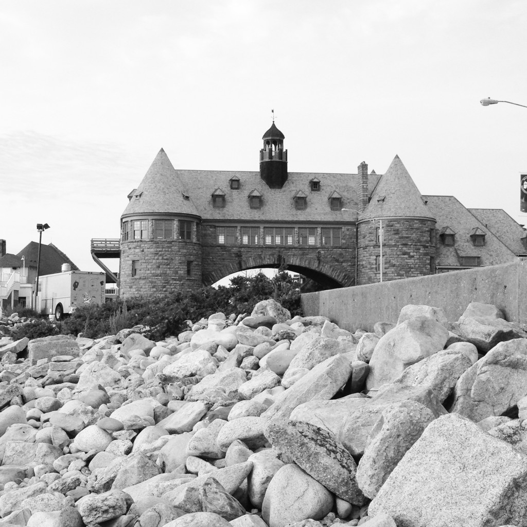 Narragansett Towers and the Wall