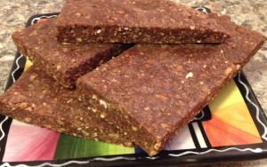 Fudgy Peanut Butter Protein Bars
