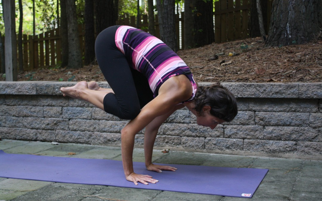 Yoga Series to Find Strength, Balance and Courage in Crane Pose