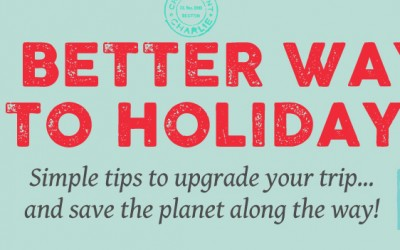Small Steps to Make Your Travel More Environmentally and Socially Mindful [Infographic]