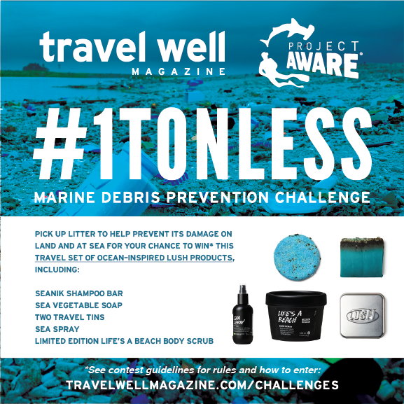 #1TonLess Marine Debris Prevention Challenge