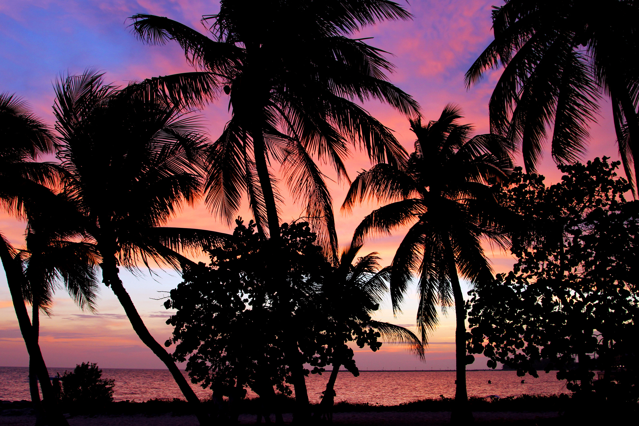 Key West sunset by W. Tipton