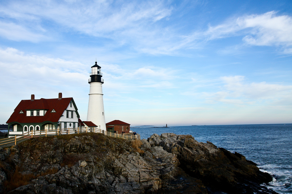 Portland Head Light by Kan Wu