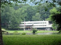 Black Mountain College Lake Eden campus, now used as a summer camp