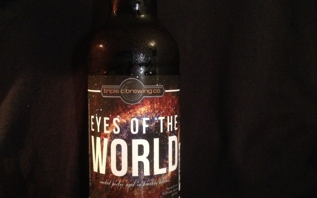 Beer of the Week 11/9/15: Triple C Brewing Co.'s Eyes Of The World