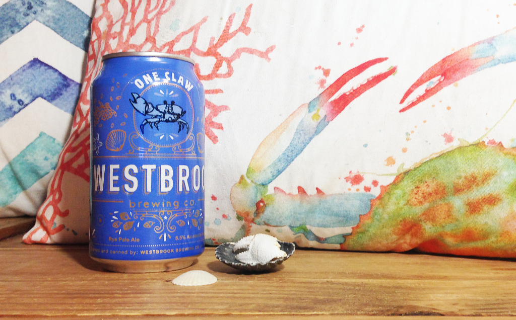 Westbrook Brewing Company's One Claw Rye Pale Ale