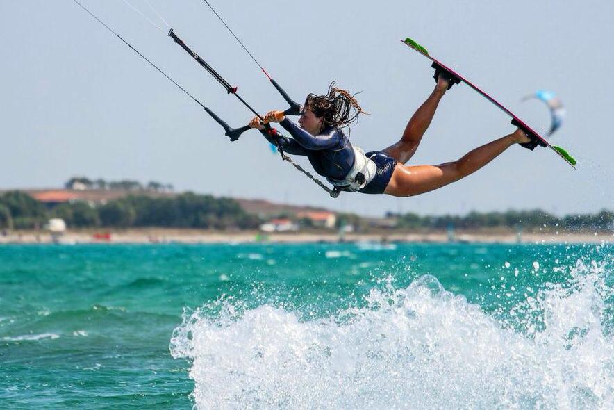 Chasing the Wind: Q&A with Pro Kitesurfer Polly Crathorne