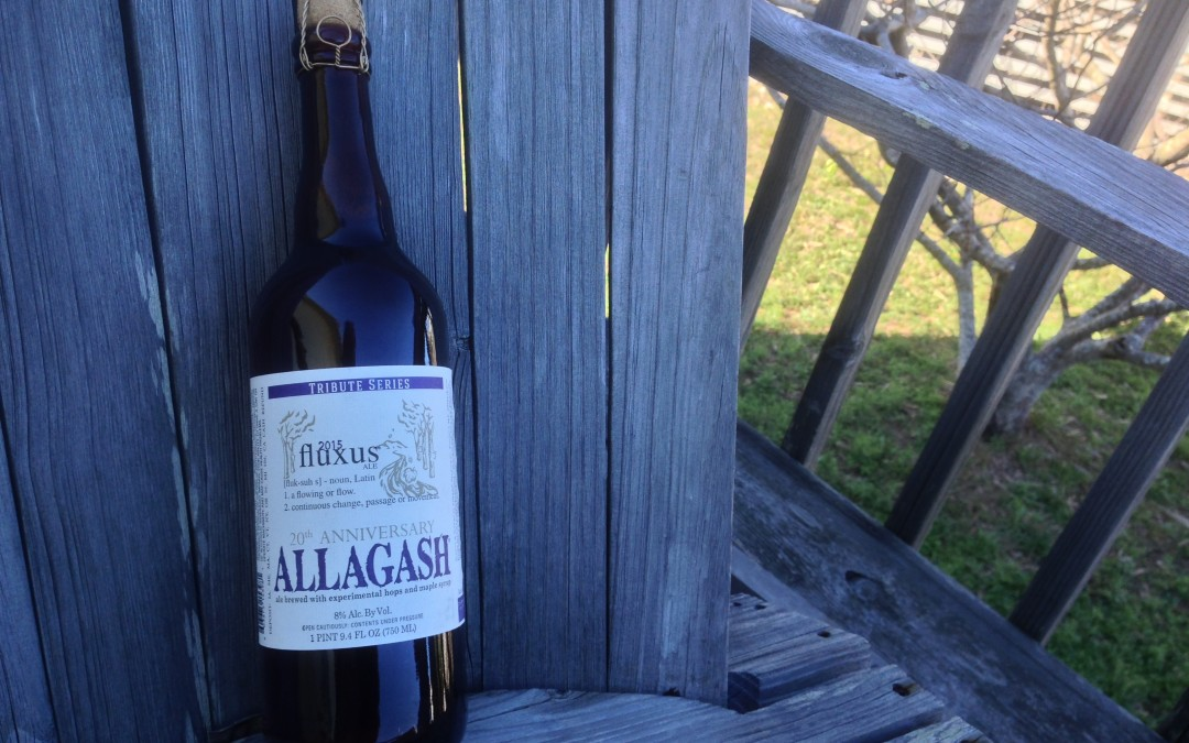 Beer of the Week 12/6/15: Allagash Tribute Series Fluxus
