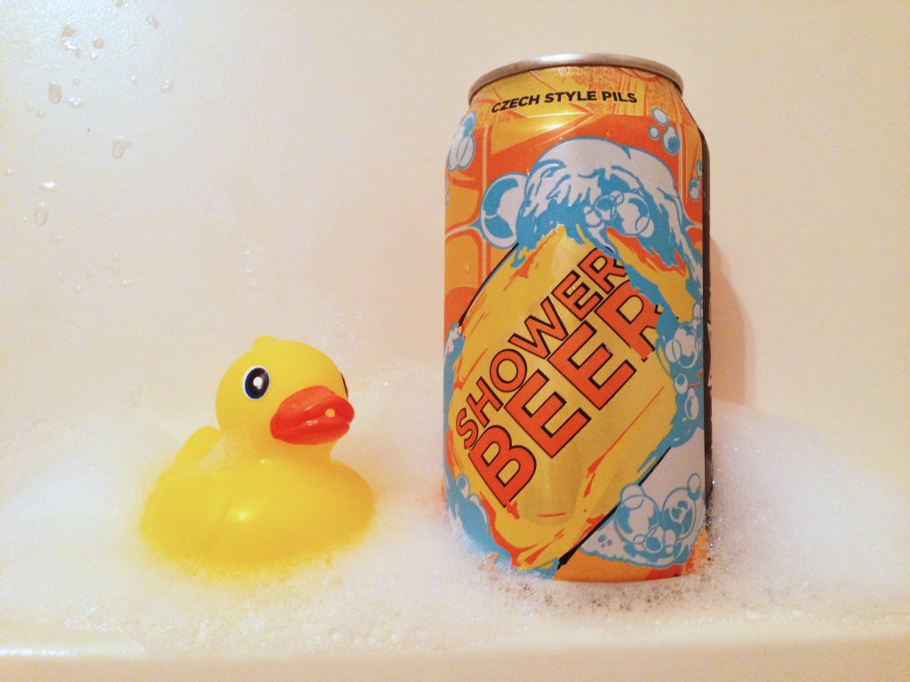 Champion Brewing Company's Shower Beer czech-style pils
