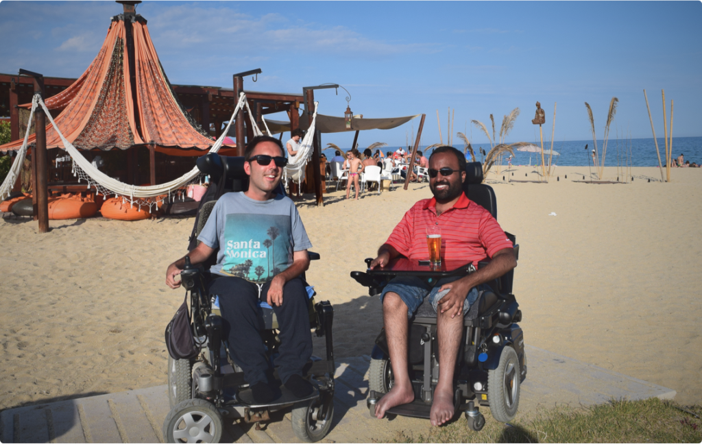 Srin Madipalli (right) and Martyn Sibley, Co-founders of Accomable - Photo courtesy of Accomable.com